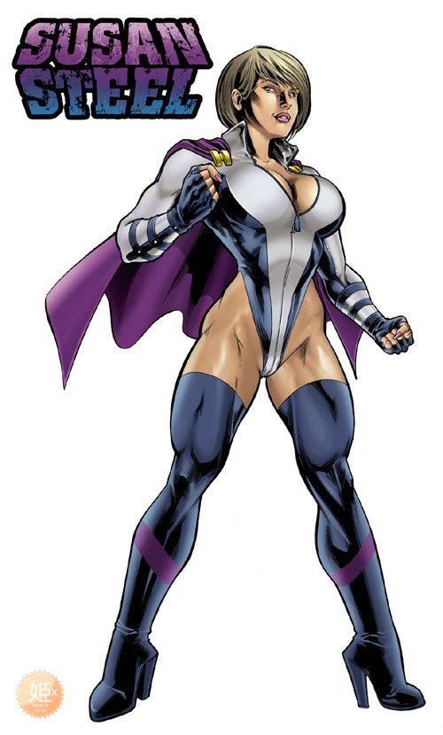 Porn Comics - Superheroine Central- Susan Steel porn comics 8 muses