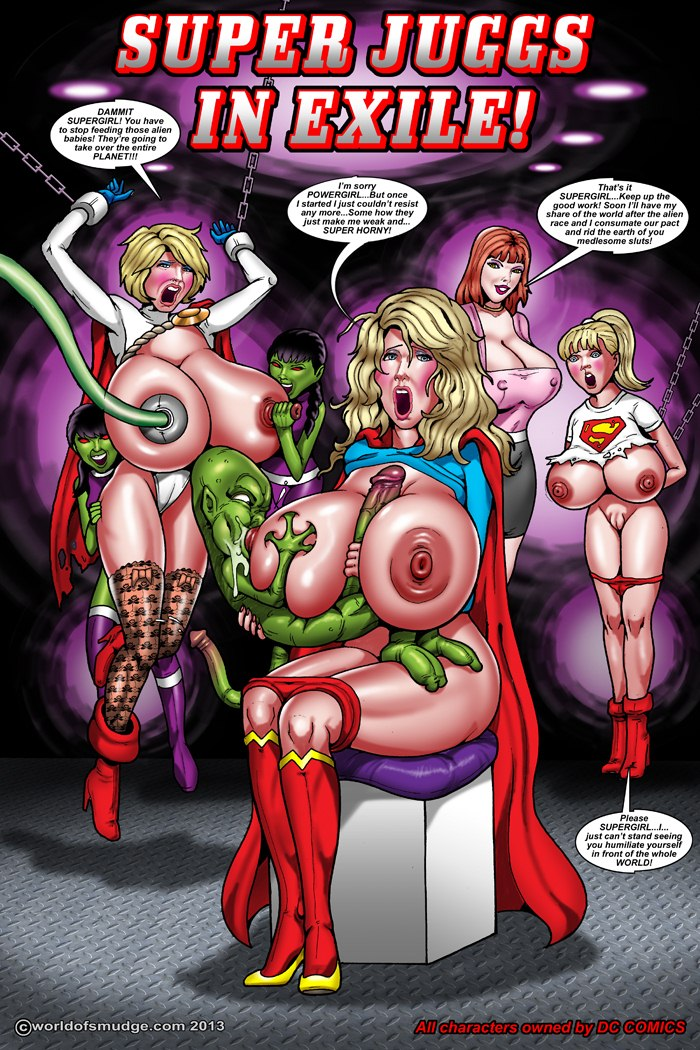 Porn Comics - Super Juggs in Exile- Smudge porn comics 8 muses