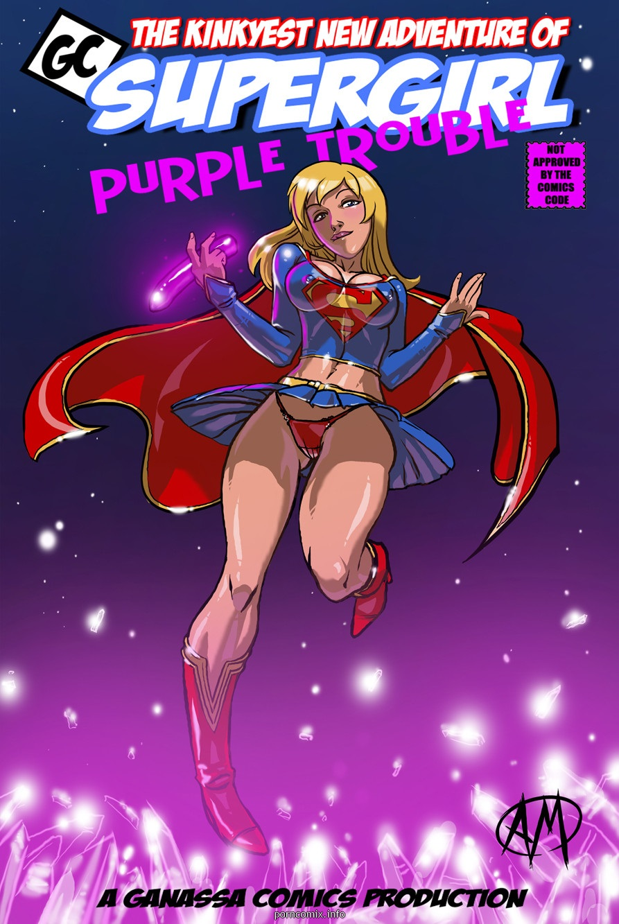 Porn Comics - Supergirl- Purple Trouble porn comics 8 muses
