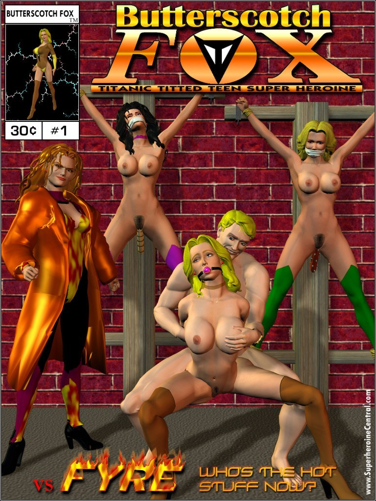 Porn Comics - Butterscotch Fox vs. Fyre porn comics 8 muses