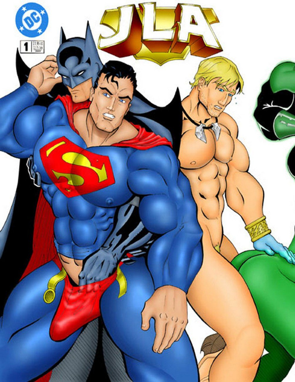 Porn Comics - Superman JLA- Iceman Blue porn comics 8 muses