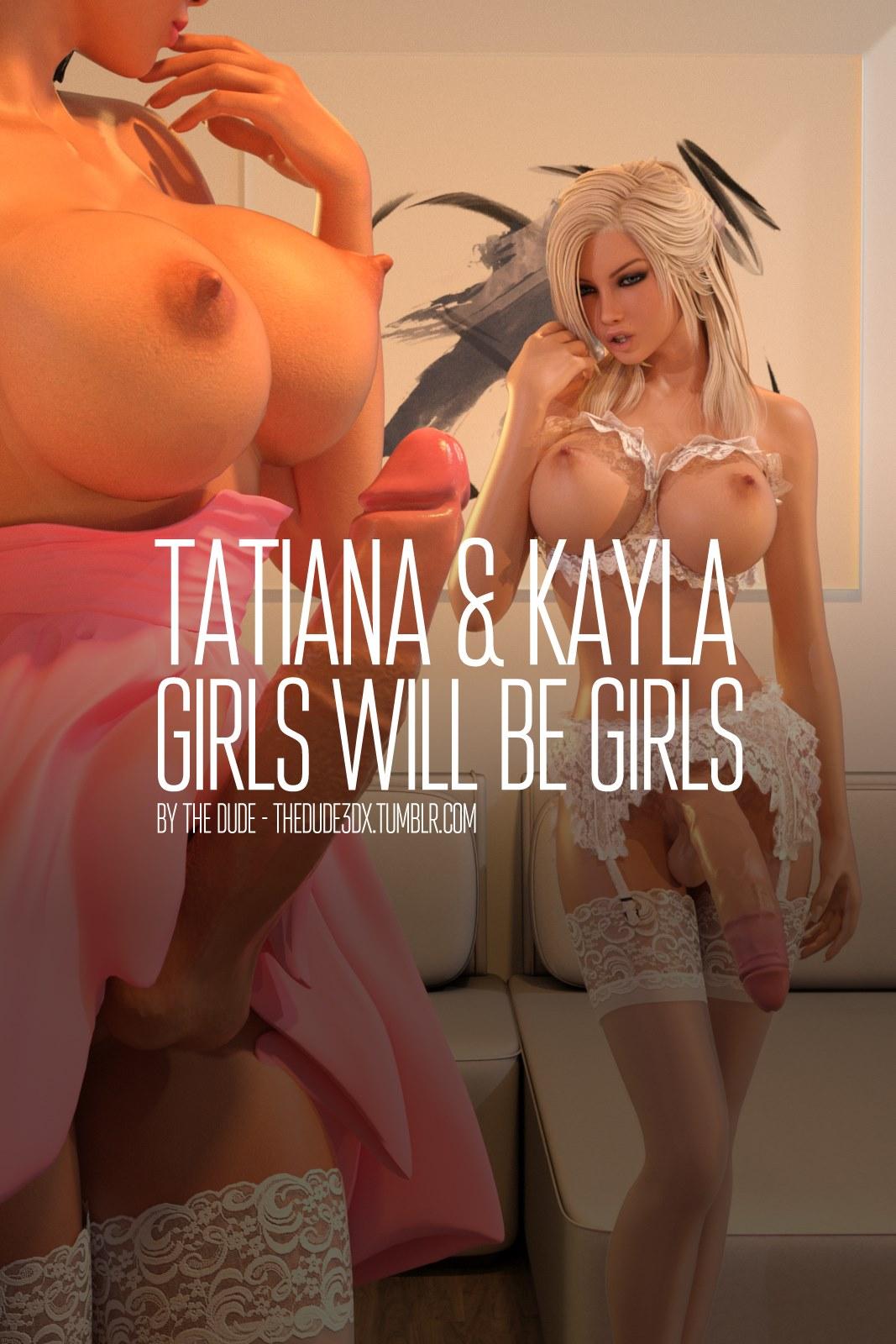 Porn Comics - Tatiana And Kayla – Girls Will Be Girls porn comics 8 muses