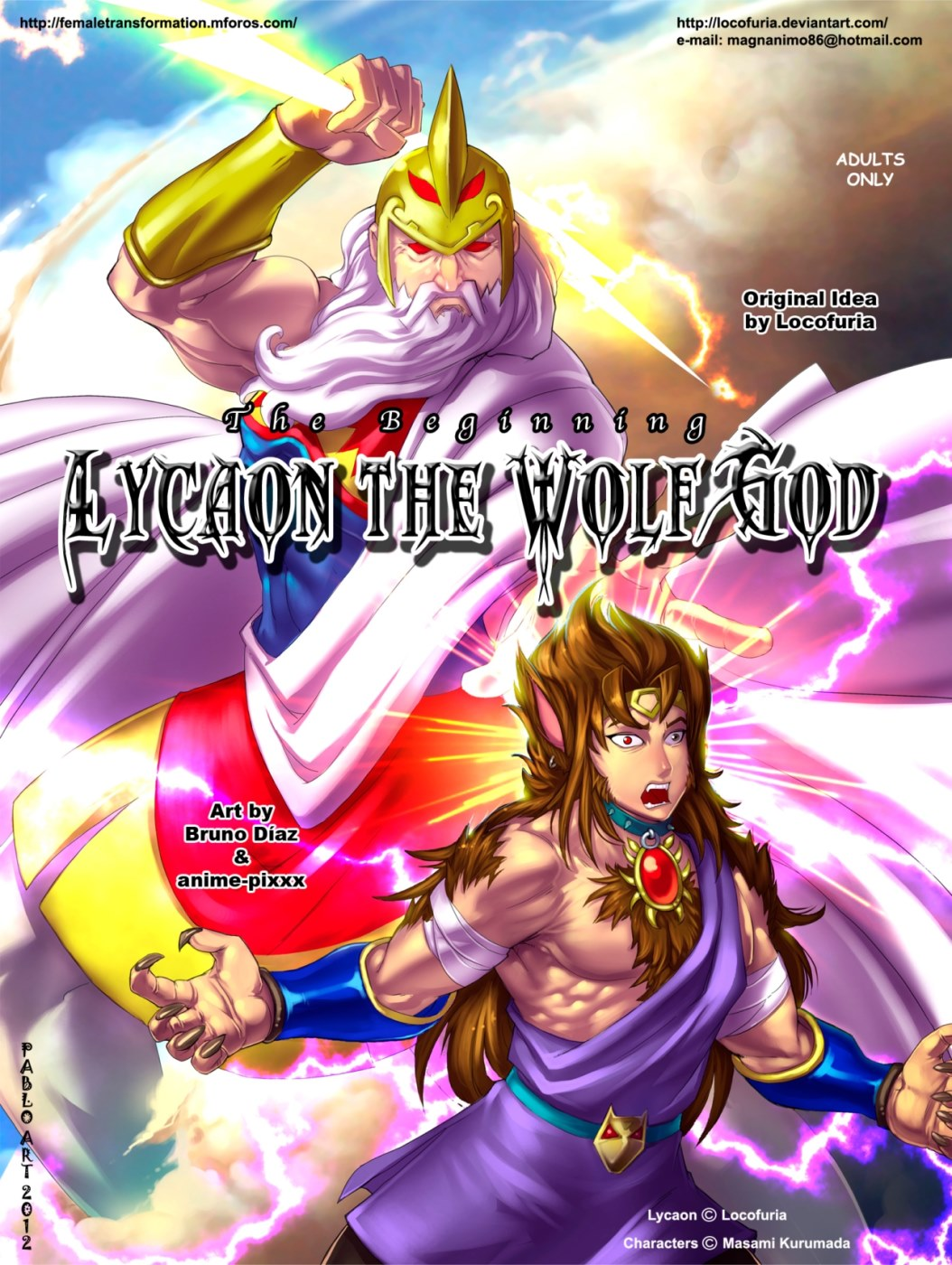 The Beginning Lycaon The Wolf God image 1