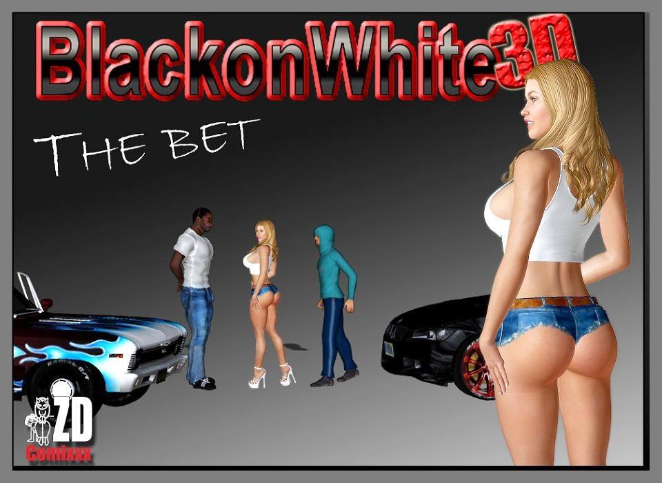 Porn Comics - The Bet-BlacknWhite3D porn comics 8 muses