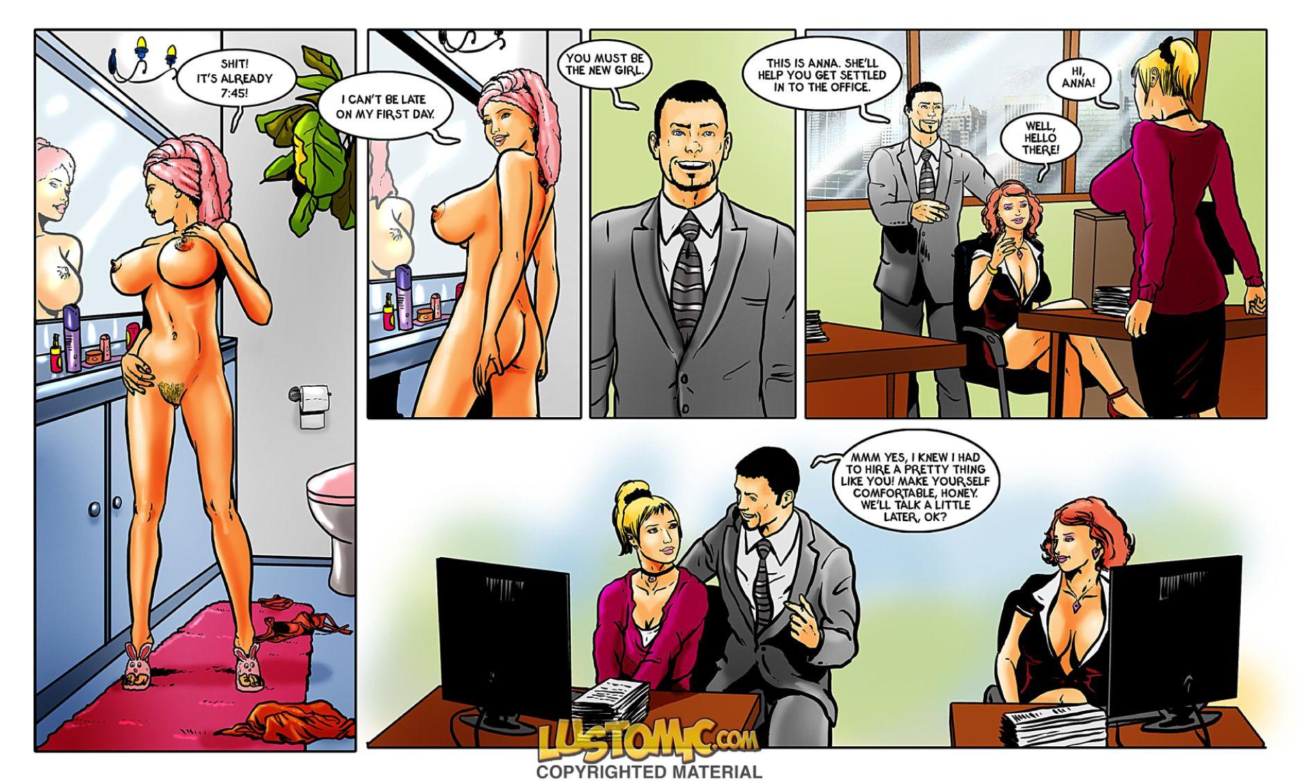 Porn Comics - The Boss- Lustomic porn comics 8 muses