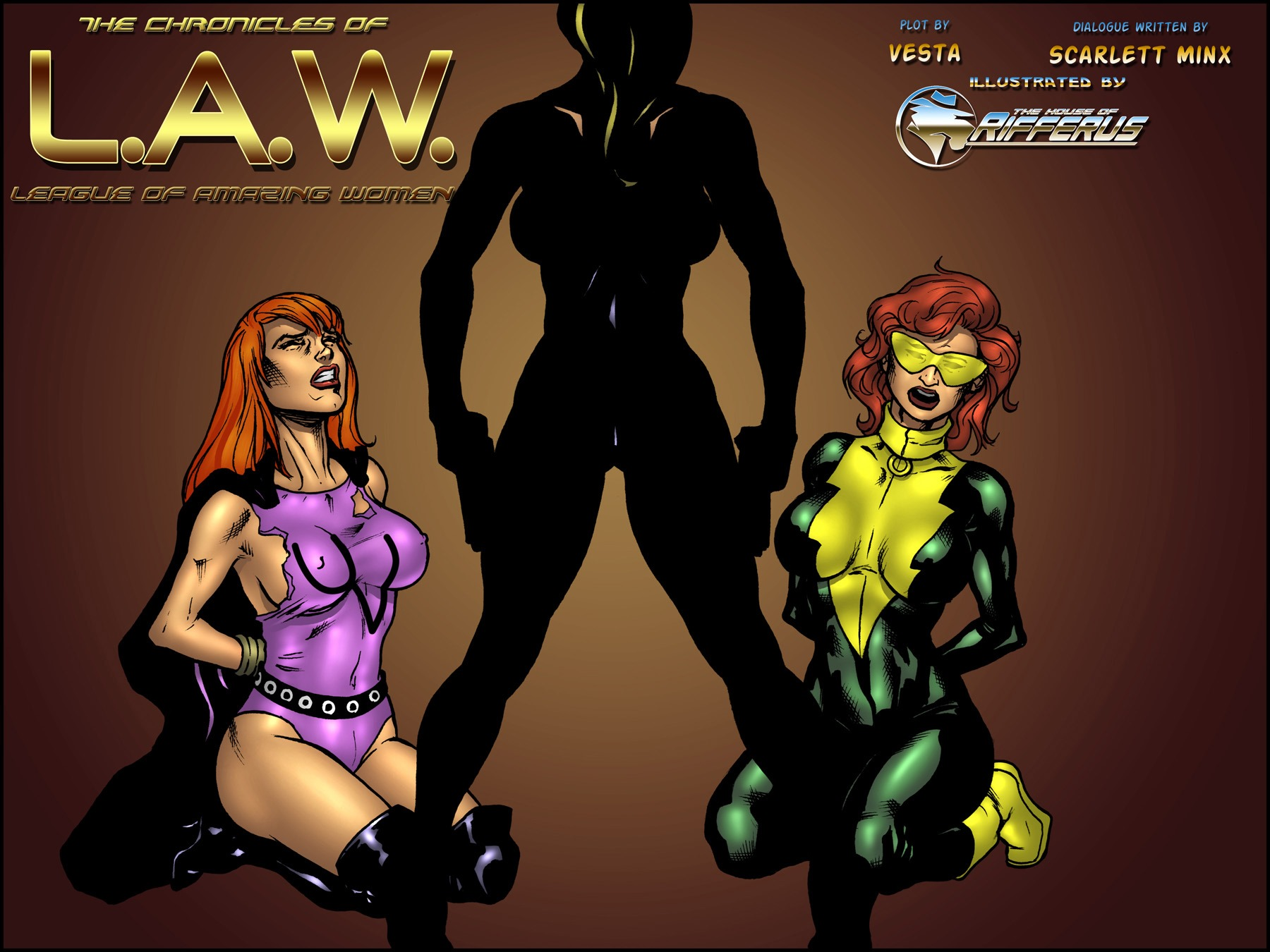 Porn Comics - The Chronicles Of L.A.W. Issue 1-4 porn comics 8 muses