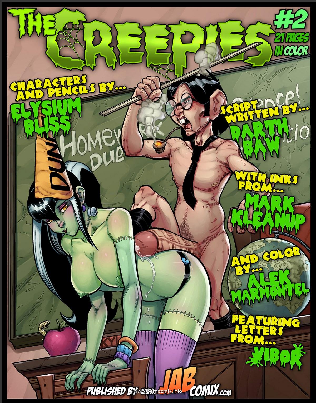 Porn Comics - The Creepies 2- Jab Comix porn comics 8 muses