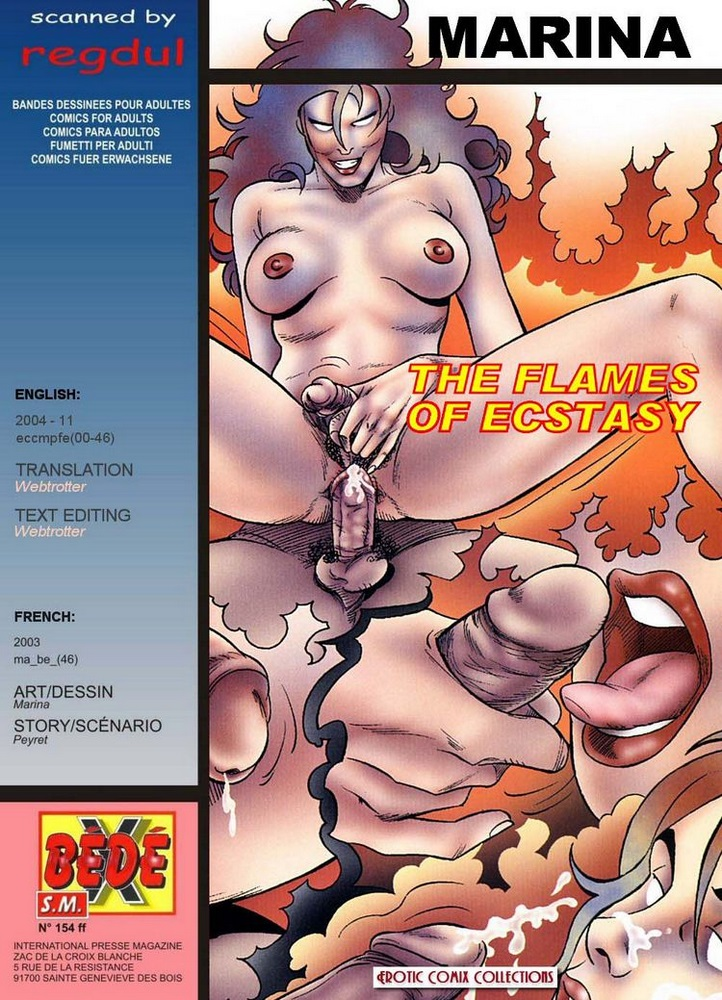 Porn Comics - Marina- The Flames of Ecstasy porn comics 8 muses