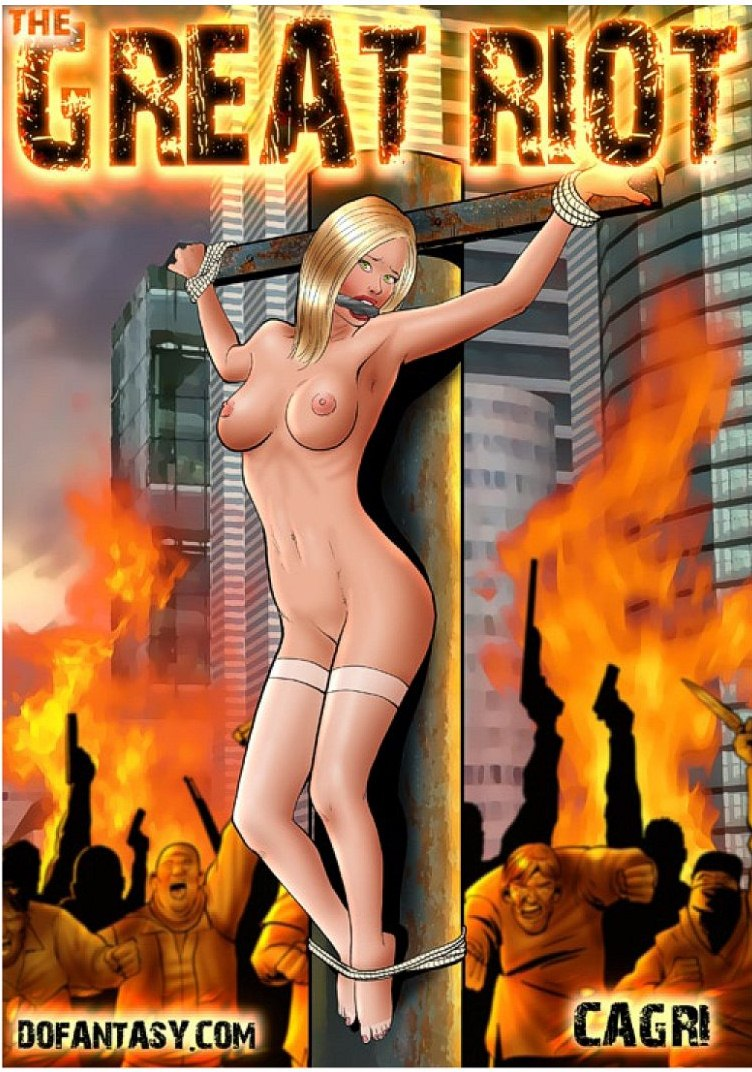 Porn Comics - The Great Riot- Dofantasy porn comics 8 muses