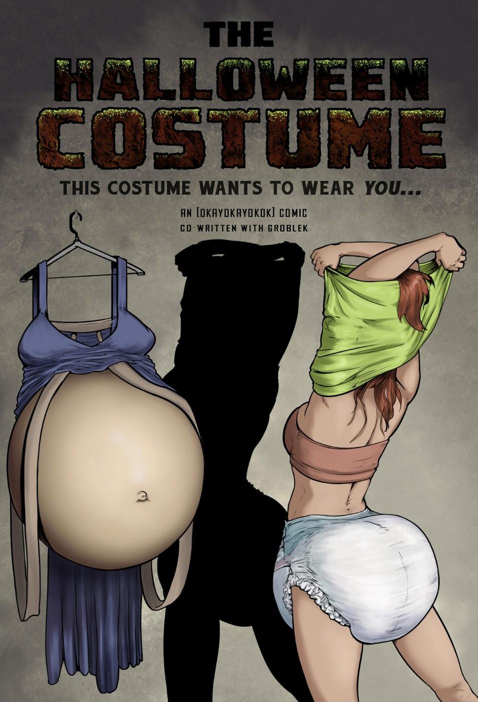 Porn Comics - The Halloween Costume- okayokayokok porn comics 8 muses