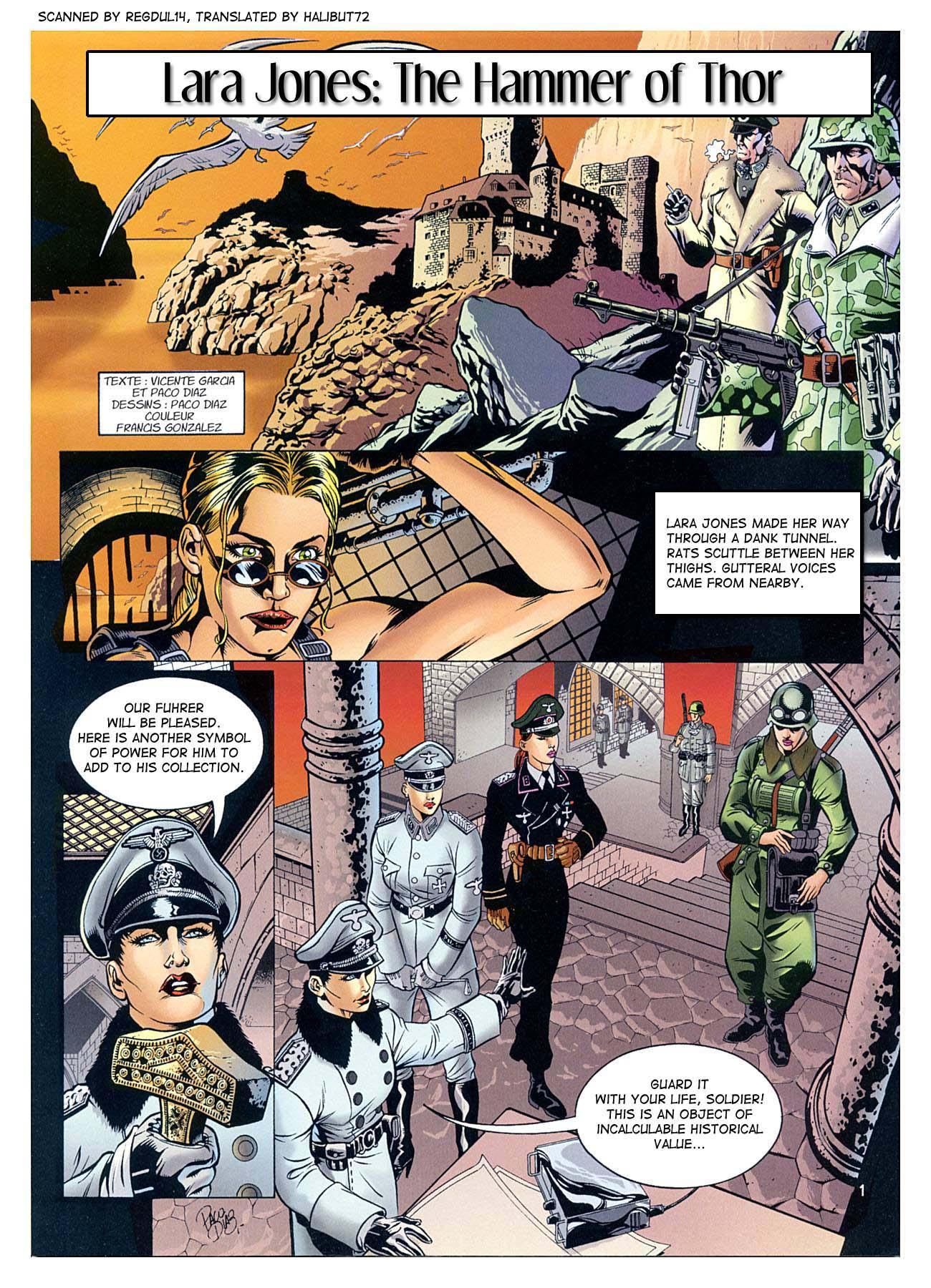 Porn Comics - The Hammer Of Thor- Lara Jones porn comics 8 muses
