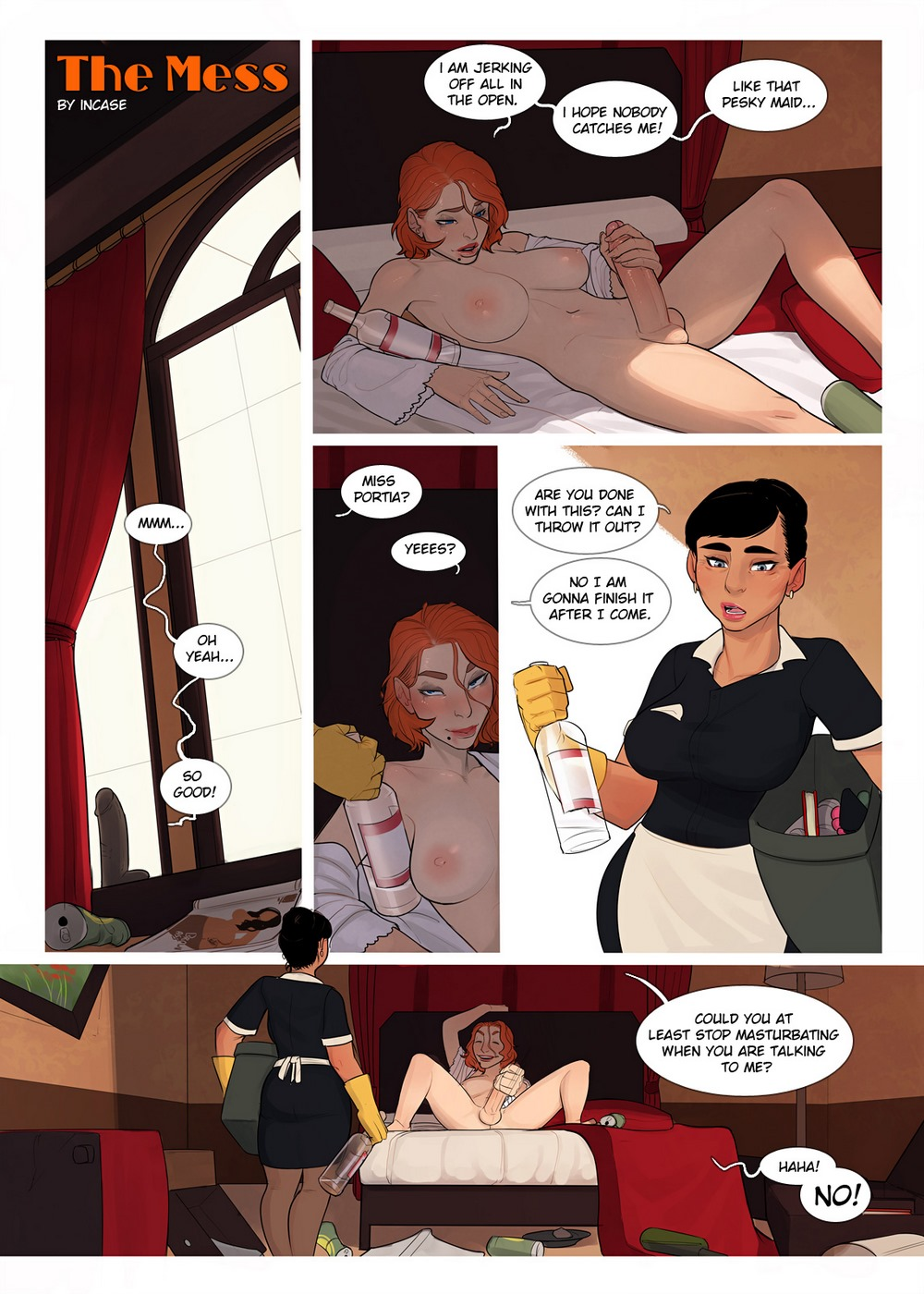 Porn Comics - InCase- The Mess 1 & 2 porn comics 8 muses