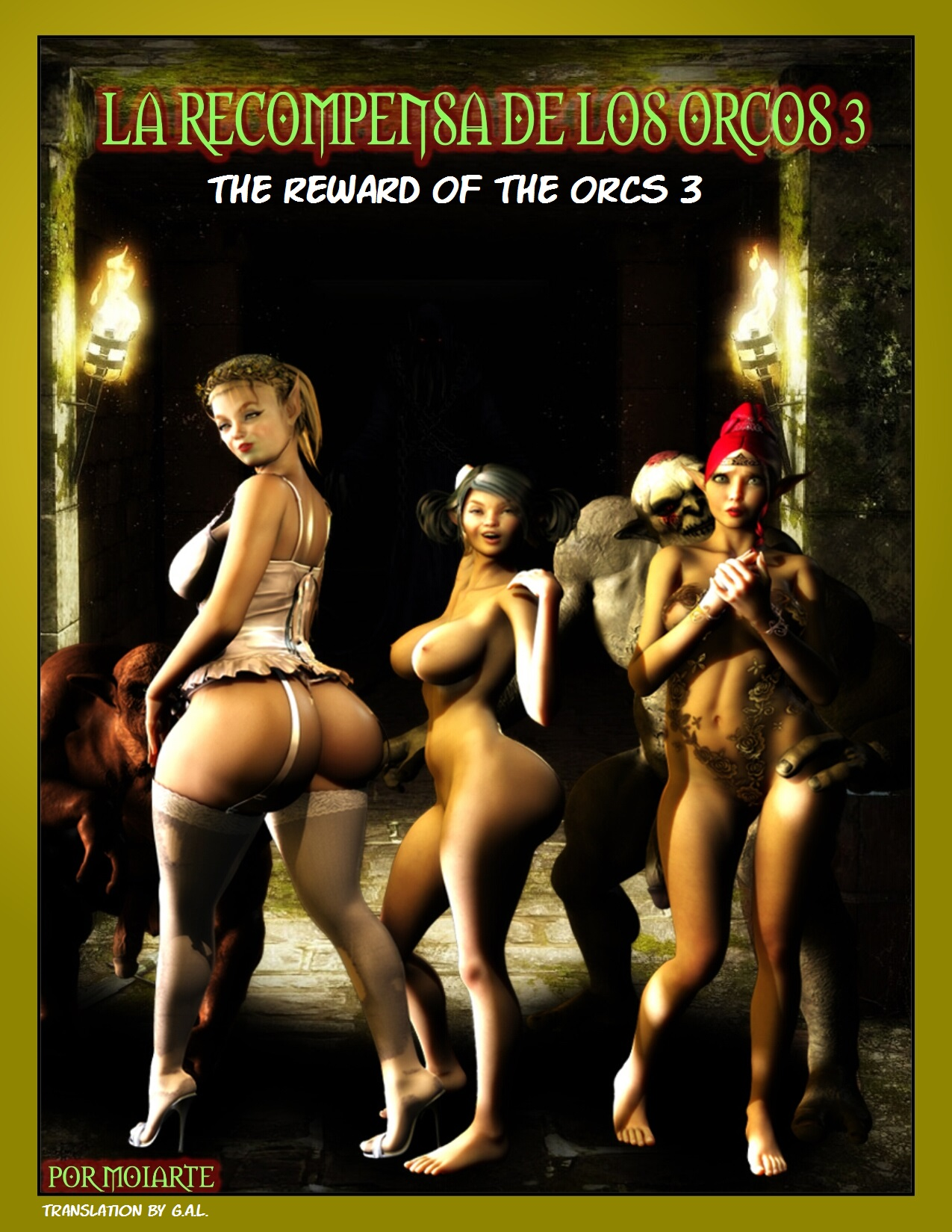 The Reward Of The Orcs Vol.3- Moiarte image 1