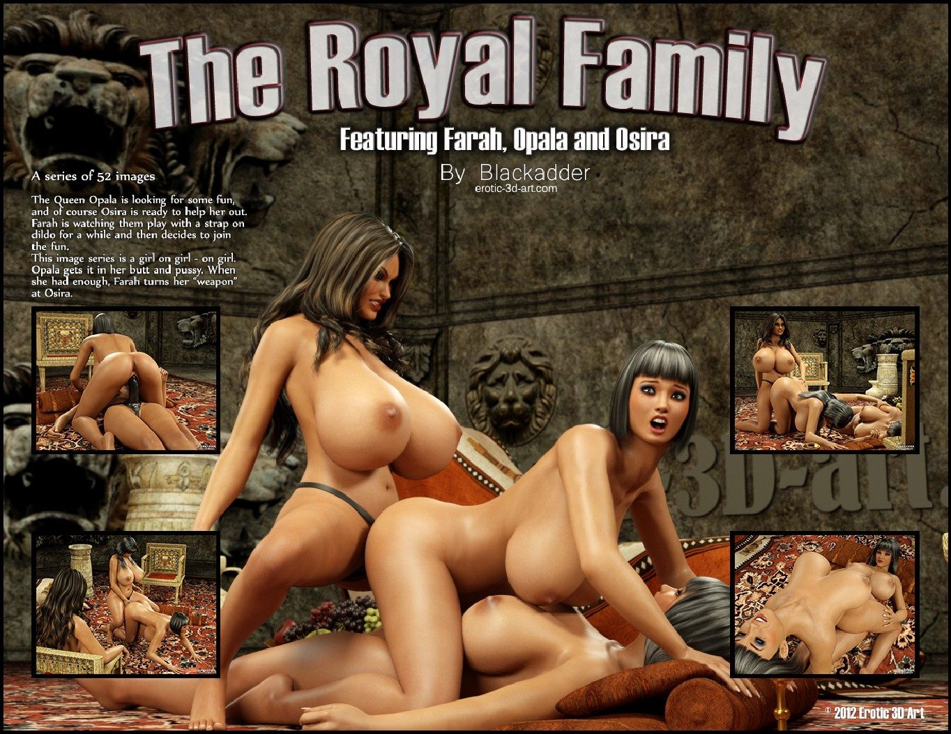 Porn Comics - Blackadder -The Royal Family porn comics 8 muses