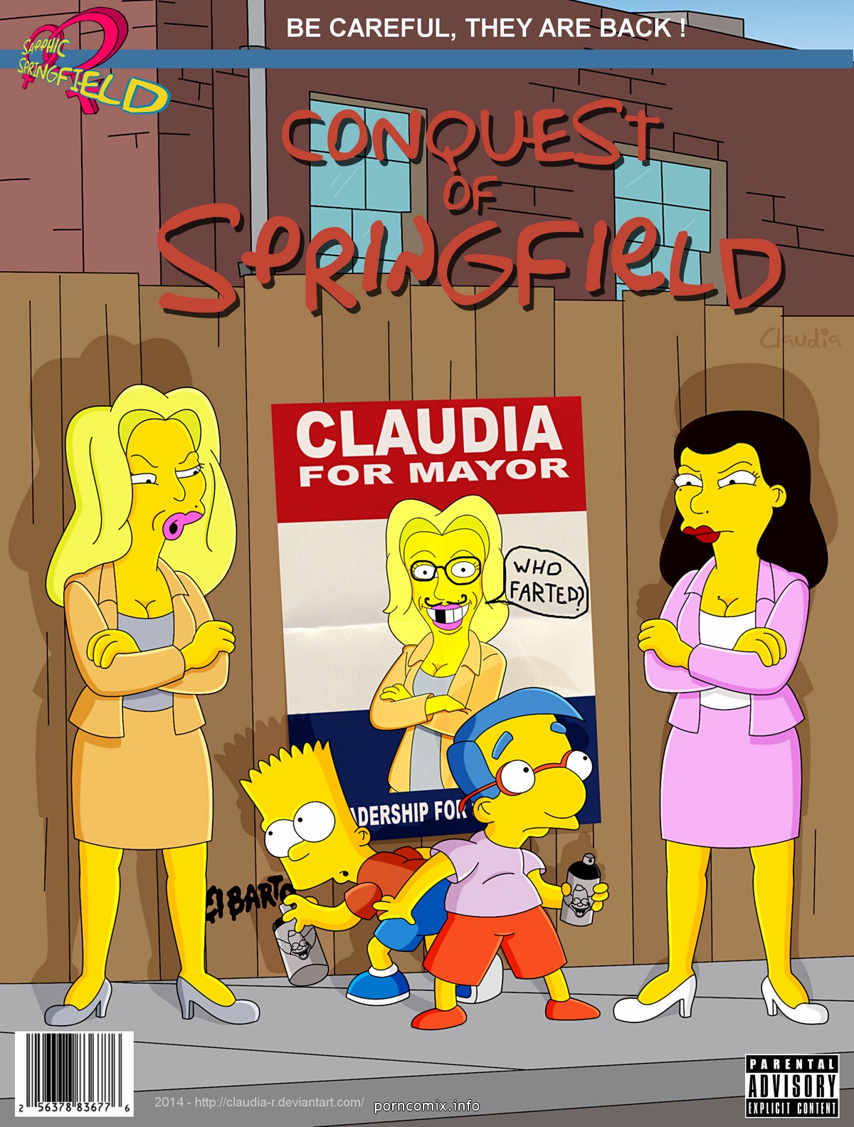Porn Comics - The Simpsons -Conquest of Springfield porn comics 8 muses