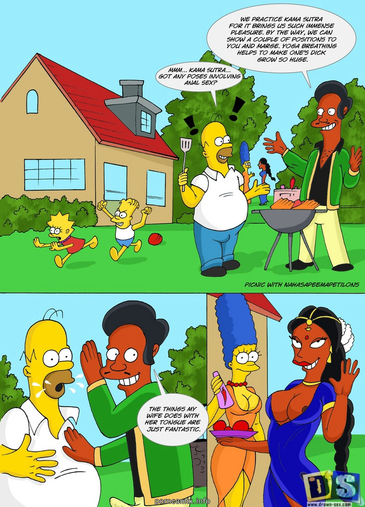 Porn Comics - The Simpsons – Kamasutra Picnic porn comics 8 muses