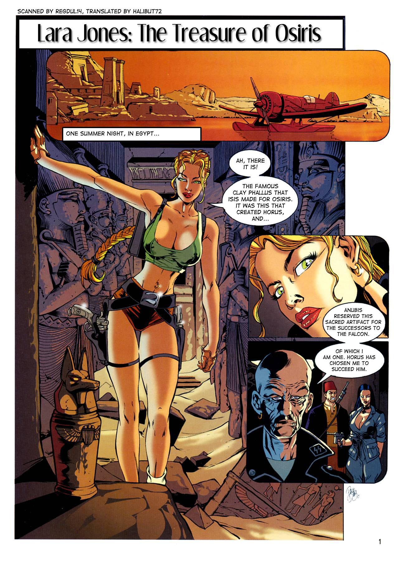 Porn Comics - The Treasure of Osiris- Lara Jones porn comics 8 muses