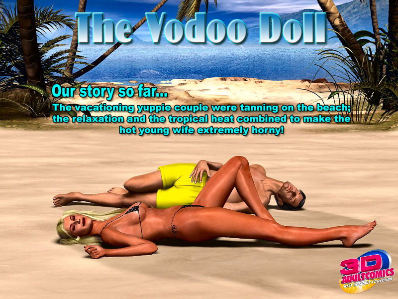 The Vodoo Doll- 3D Interracial image 1