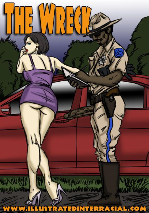 Porn Comics - The Wreck- illustrated interracial porn comics 8 muses