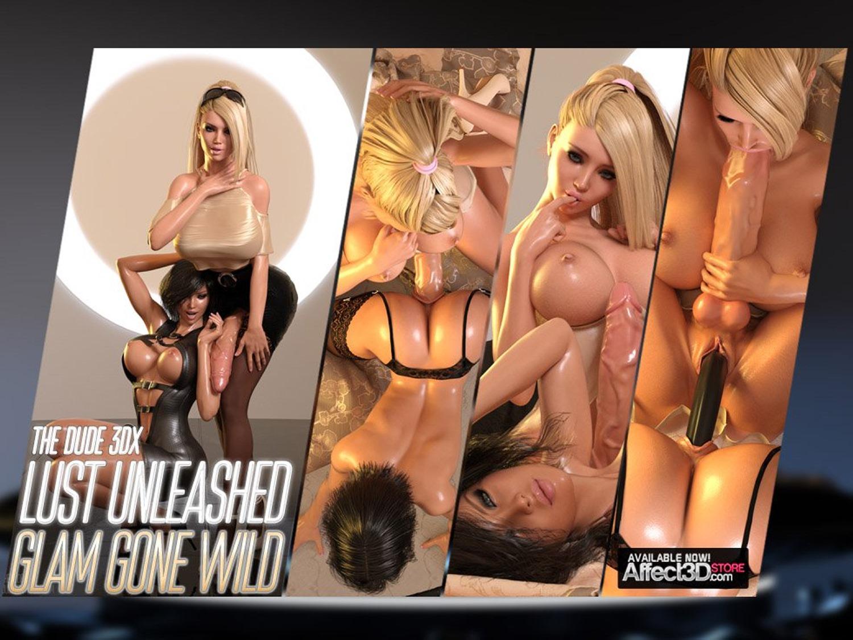 Porn Comics - Lust Unleashed – Glam Gone Wild porn comics 8 muses