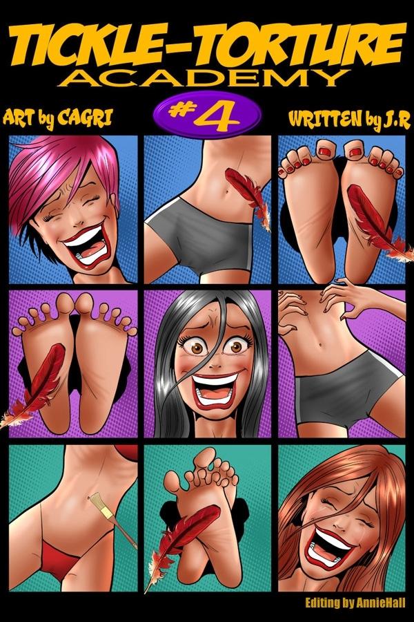 Porn Comics - Tickle Torture Academy #4- Cagri porn comics 8 muses