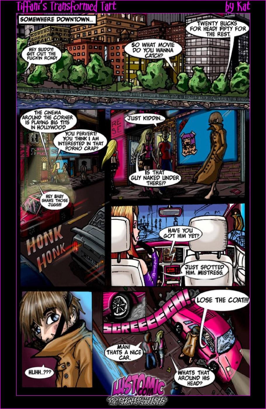 Porn Comics - Tiffani's Transformed Tart- Lustomic porn comics 8 muses
