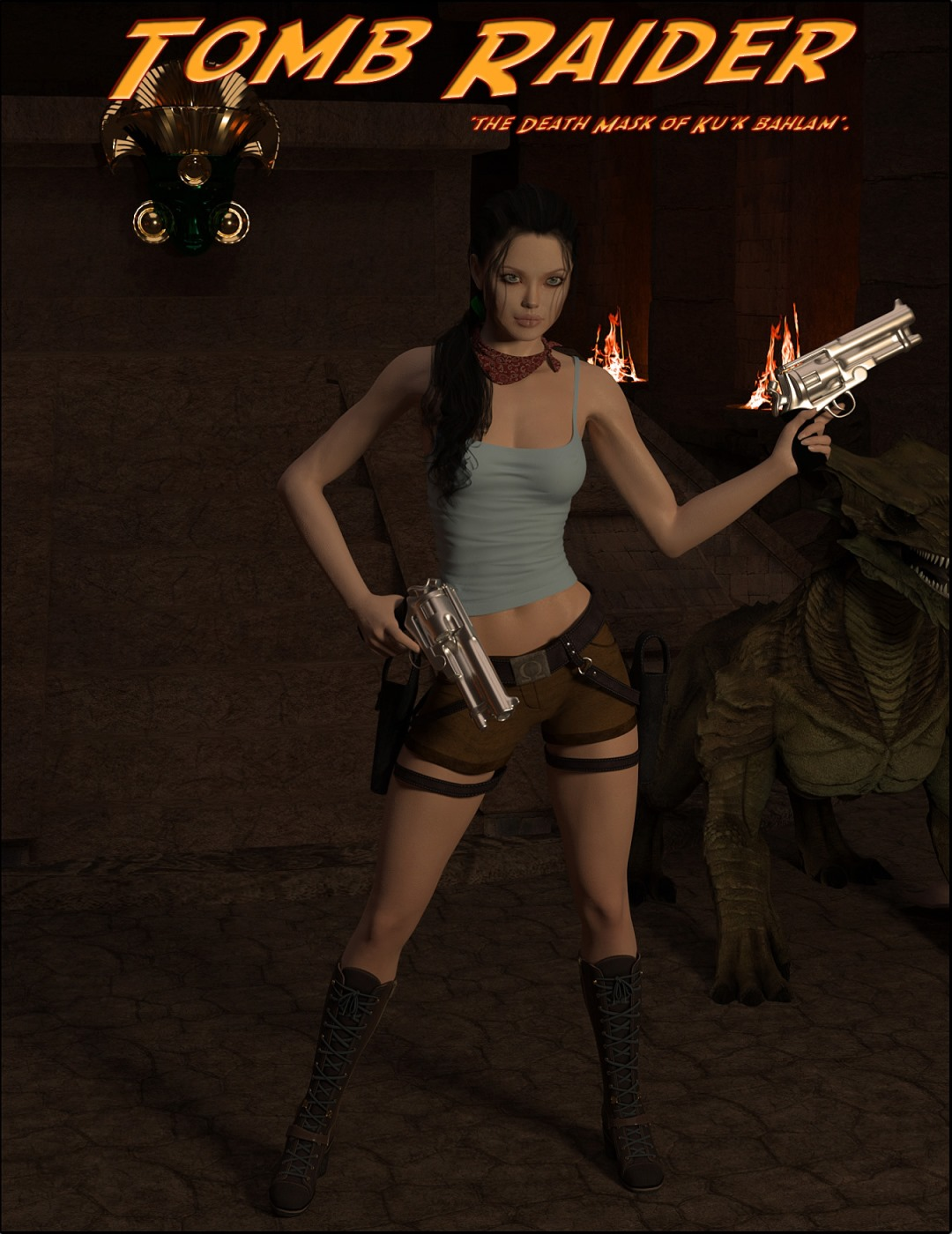Tomb Raider – Death Mask of 'Ku'k Bahlam' image 1