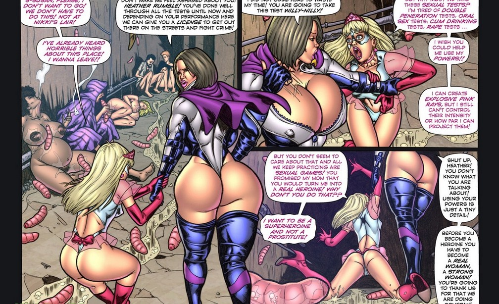 Porn Comics - The Tragic Fate of Heather Rumble porn comics 8 muses