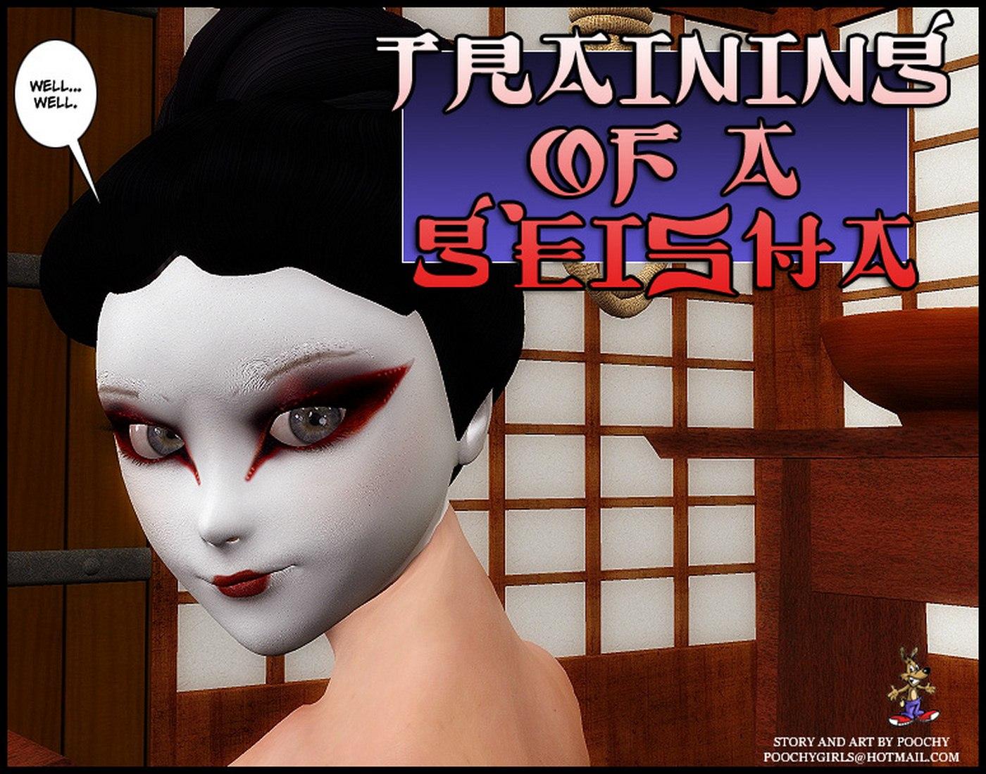 Training of a Geisha-Poochy Comix image 01