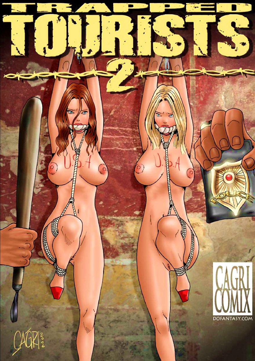 Porn Comics - Trapped Tourists 2- Fansadox Collection 90 porn comics 8 muses