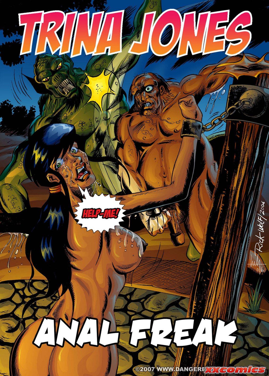 Porn Comics - Trina Jones-Anal Freak Danger Babe Central porn comics 8 muses