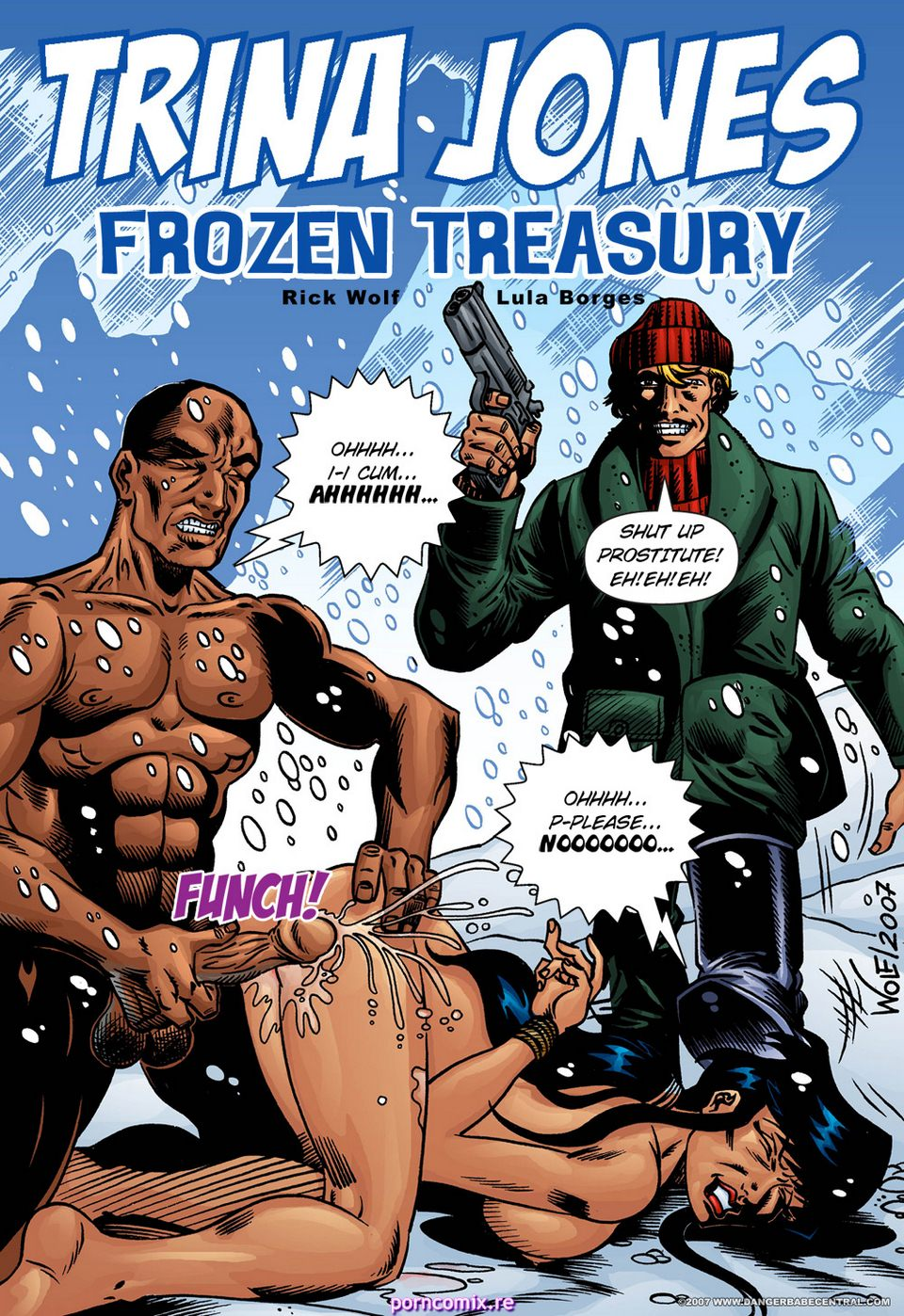Porn Comics - Trina Jones- Frozen Treasury porn comics 8 muses