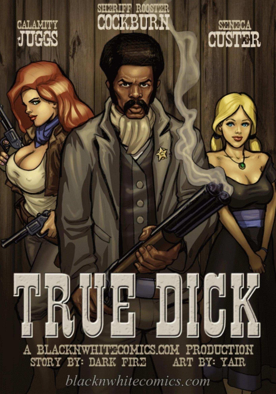 Porn Comics - True Dick- Bnw, BlacknWhite porn comics 8 muses