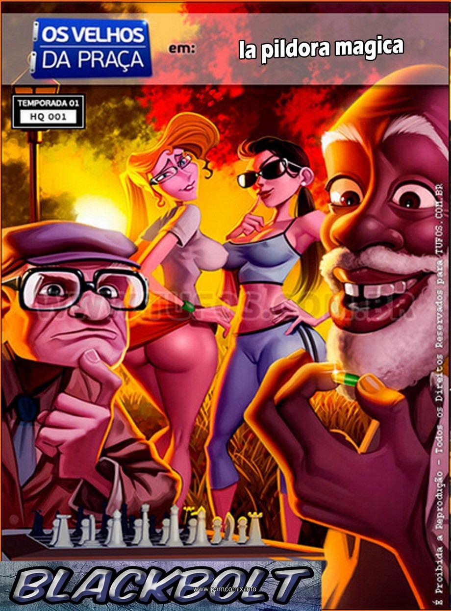 Porn Comics - Tufos – Los viejos del parque (Spanish) porn comics 8 muses