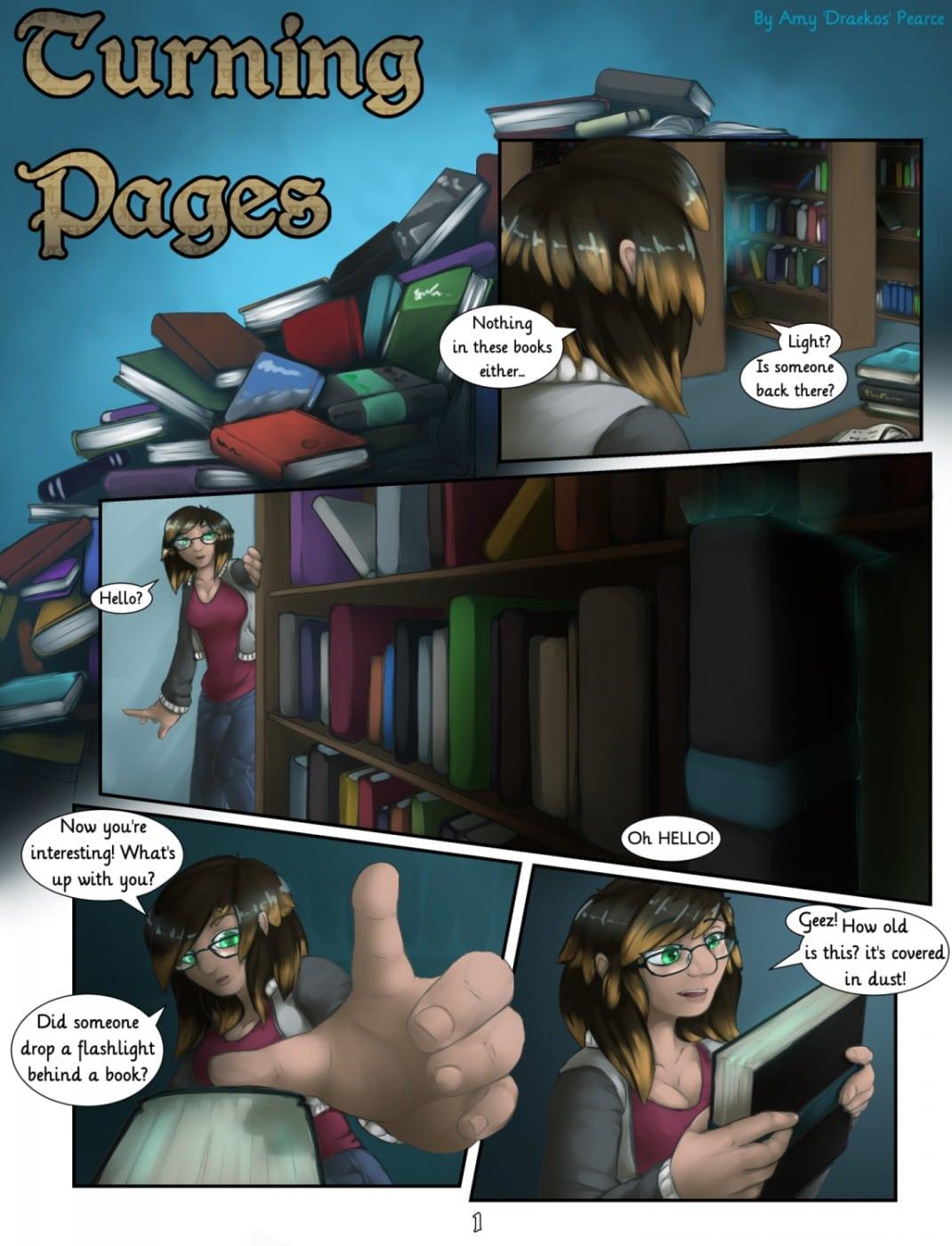 Turning Pages- Draekos image 1