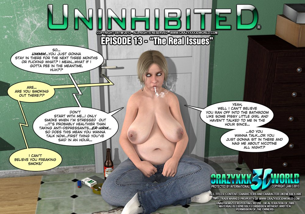 Porn Comics - Uninhibited 13-The Real Issue  porn comics 8 muses