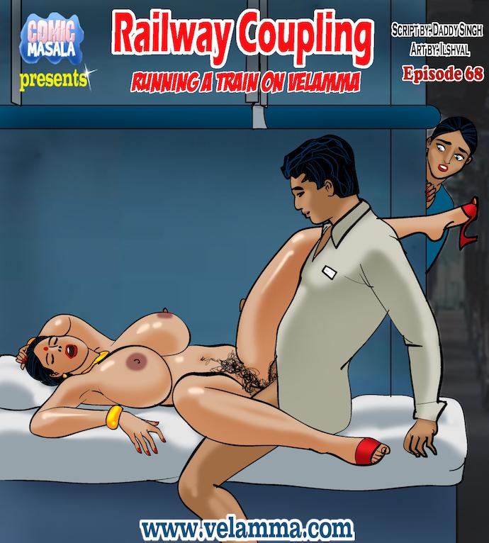 Porn Comics - Velamma Episode 68- Railway Coupling porn comics 8 muses
