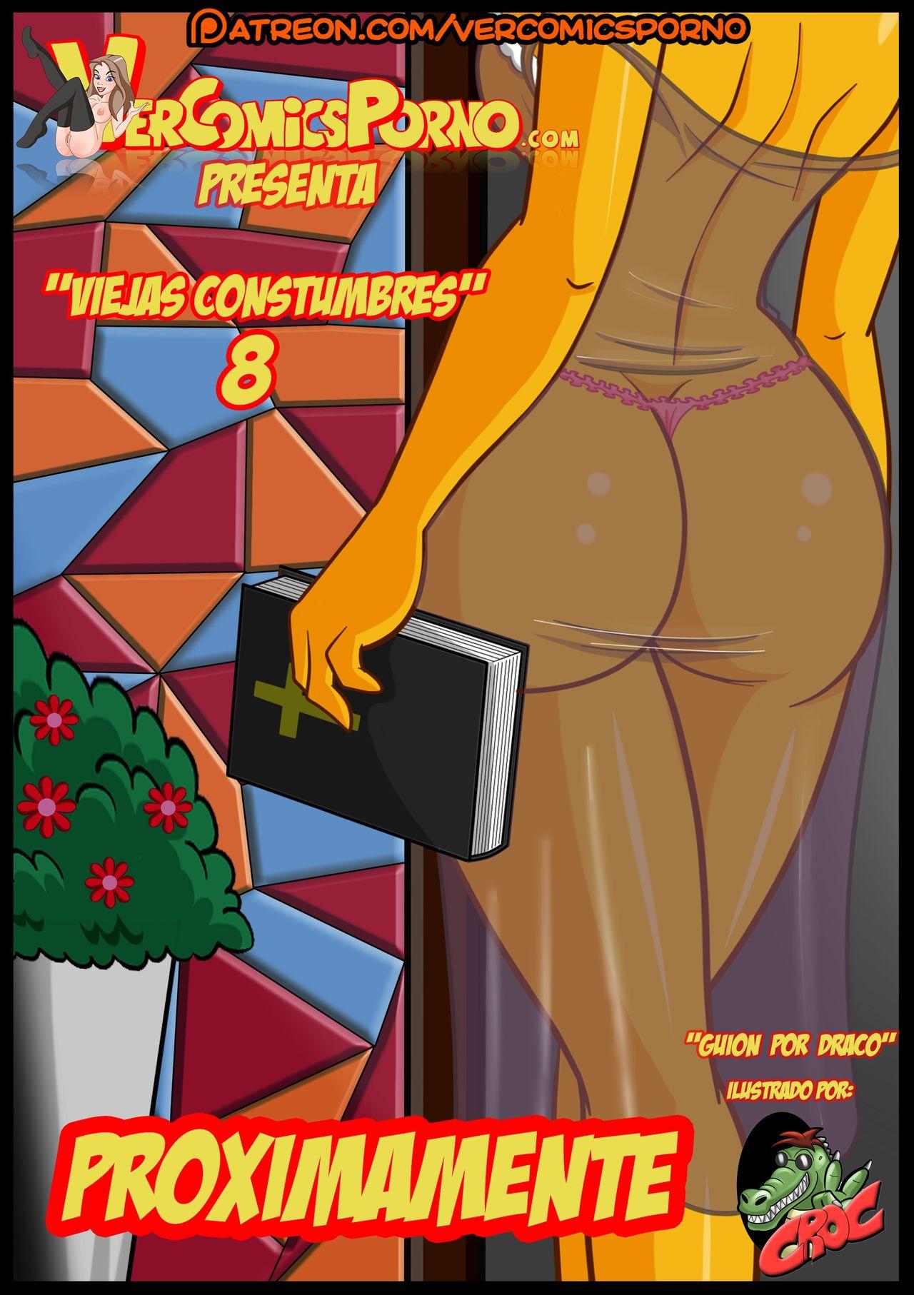 Porn Comics - Old Habit 8- Simpsons (Croc) porn comics 8 muses