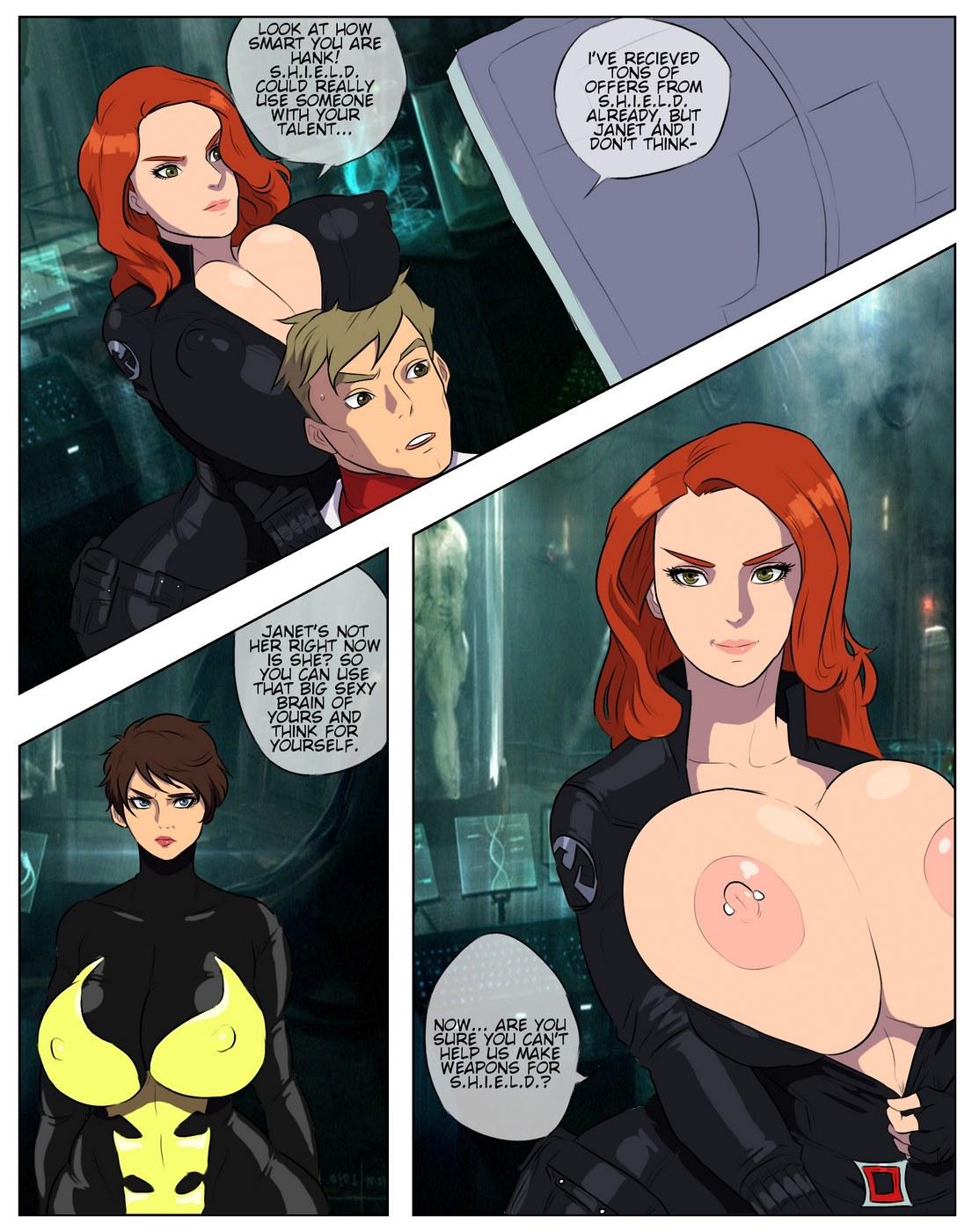 Porn Comics - WidowWasp (Avengers)- Jay Marvello porn comics 8 muses
