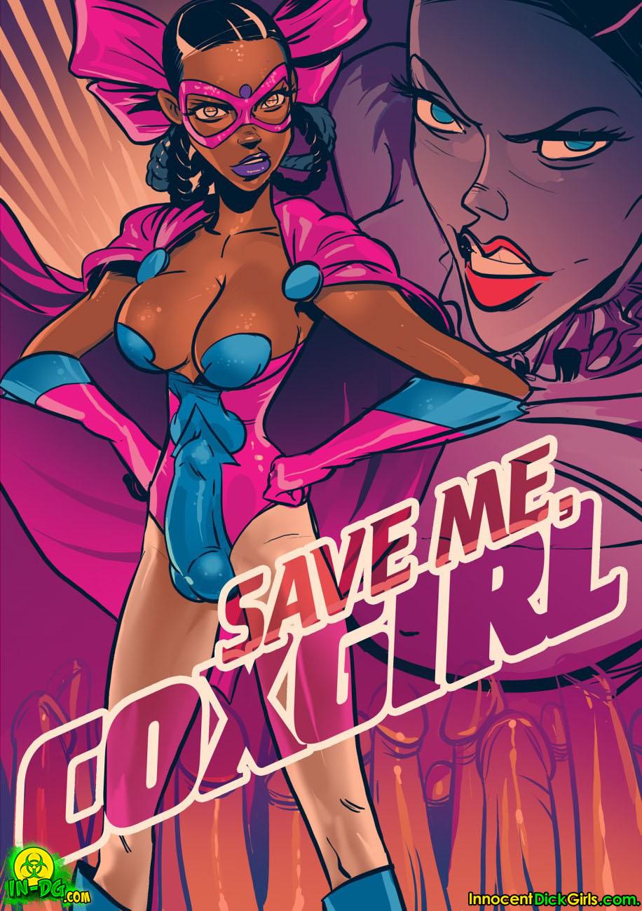 Porn Comics - Save me Coxgirl- Innocent DickGirls porn comics 8 muses