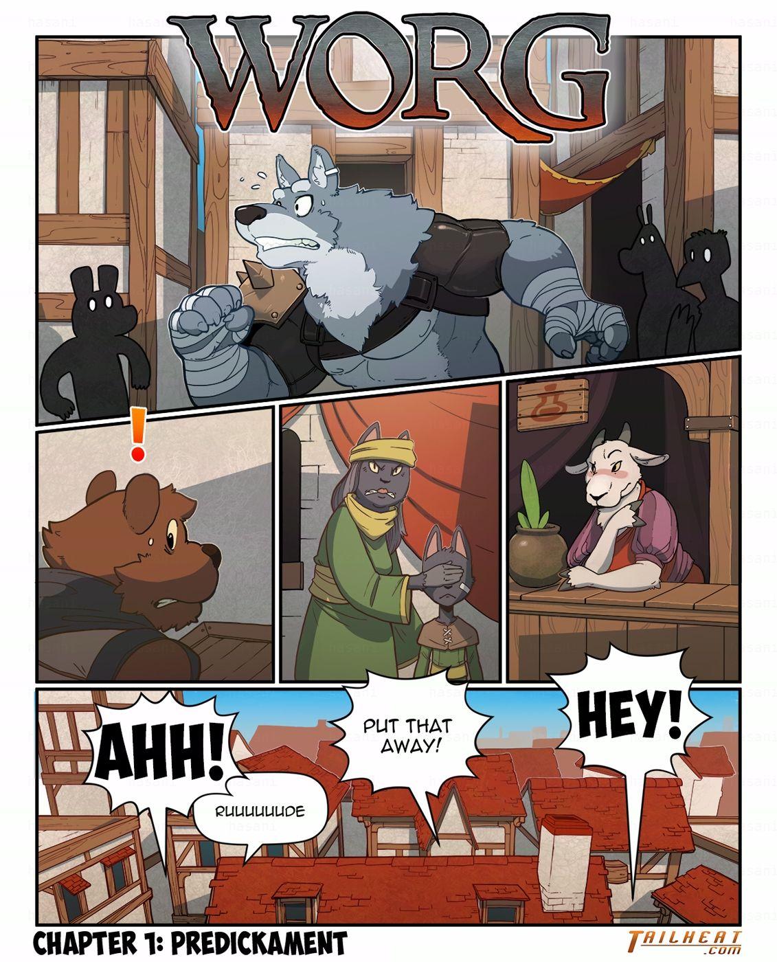 Worg Chapter 1- Predickament image 1