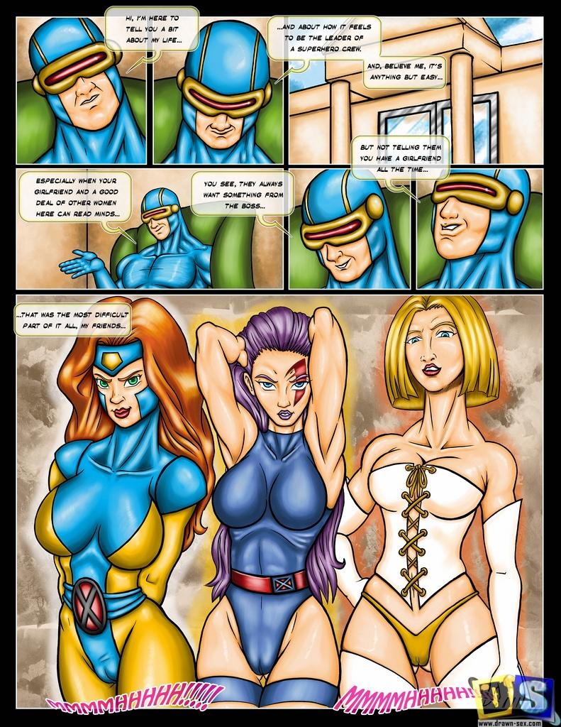 X-Men- X-Men Girls image 01