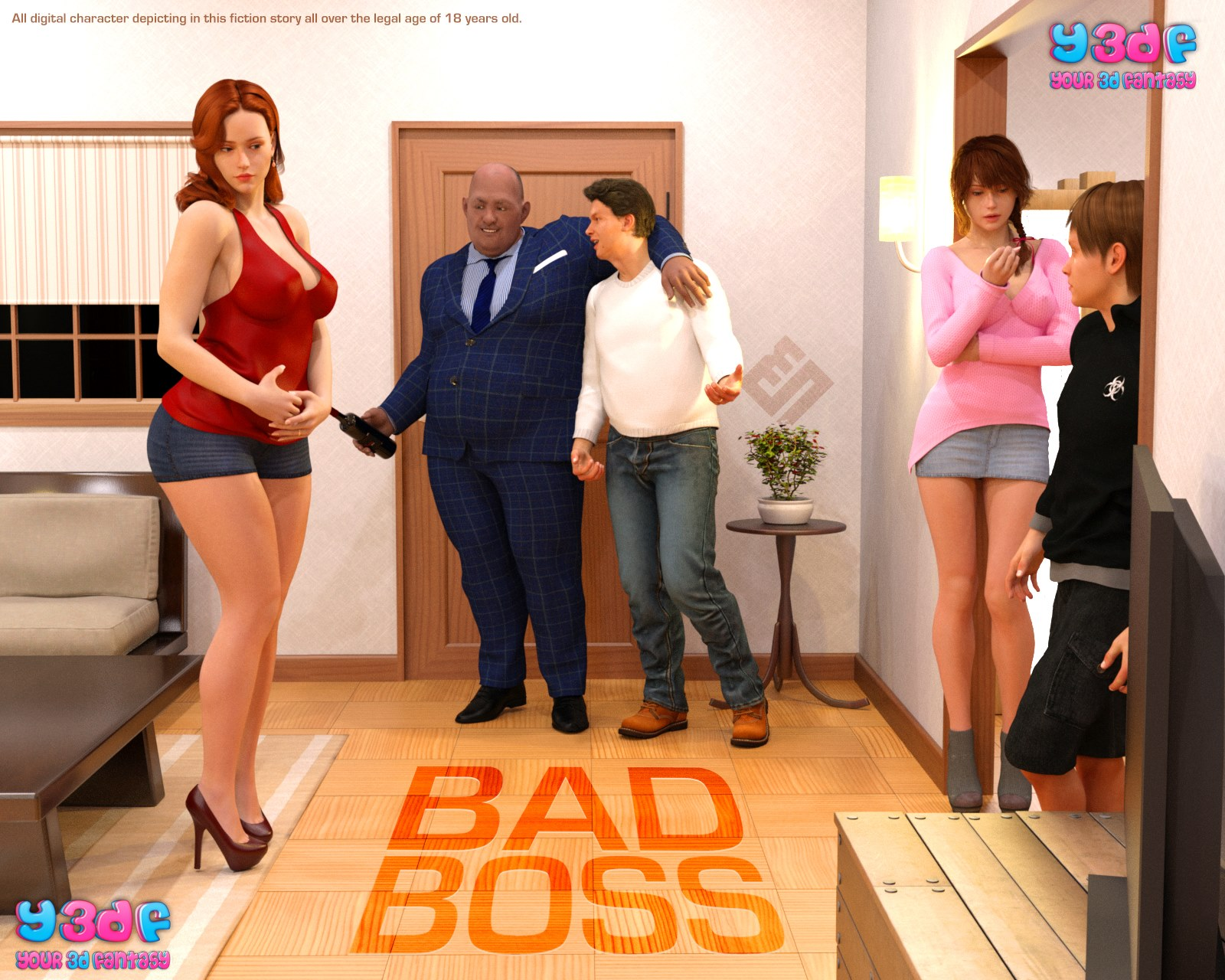 Y3DF- Bad Boss image 1