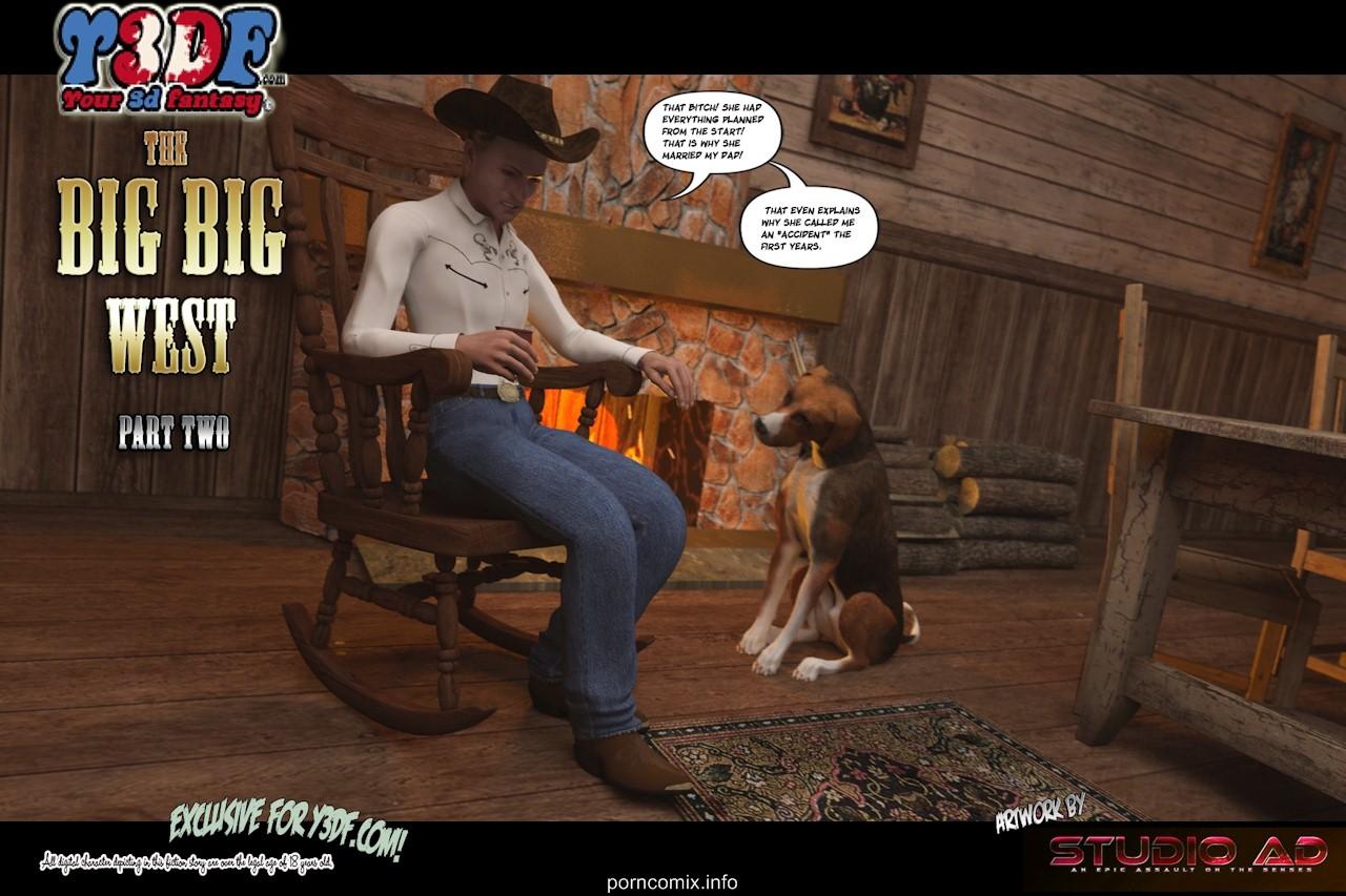 Porn Comics - Y3DF- The Big Big West 2 porn comics 8 muses