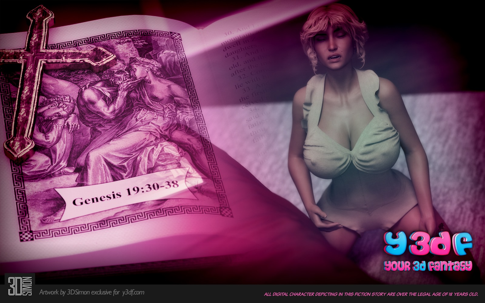 Porn Comics - Y3DF- Deuteronomy porn comics 8 muses