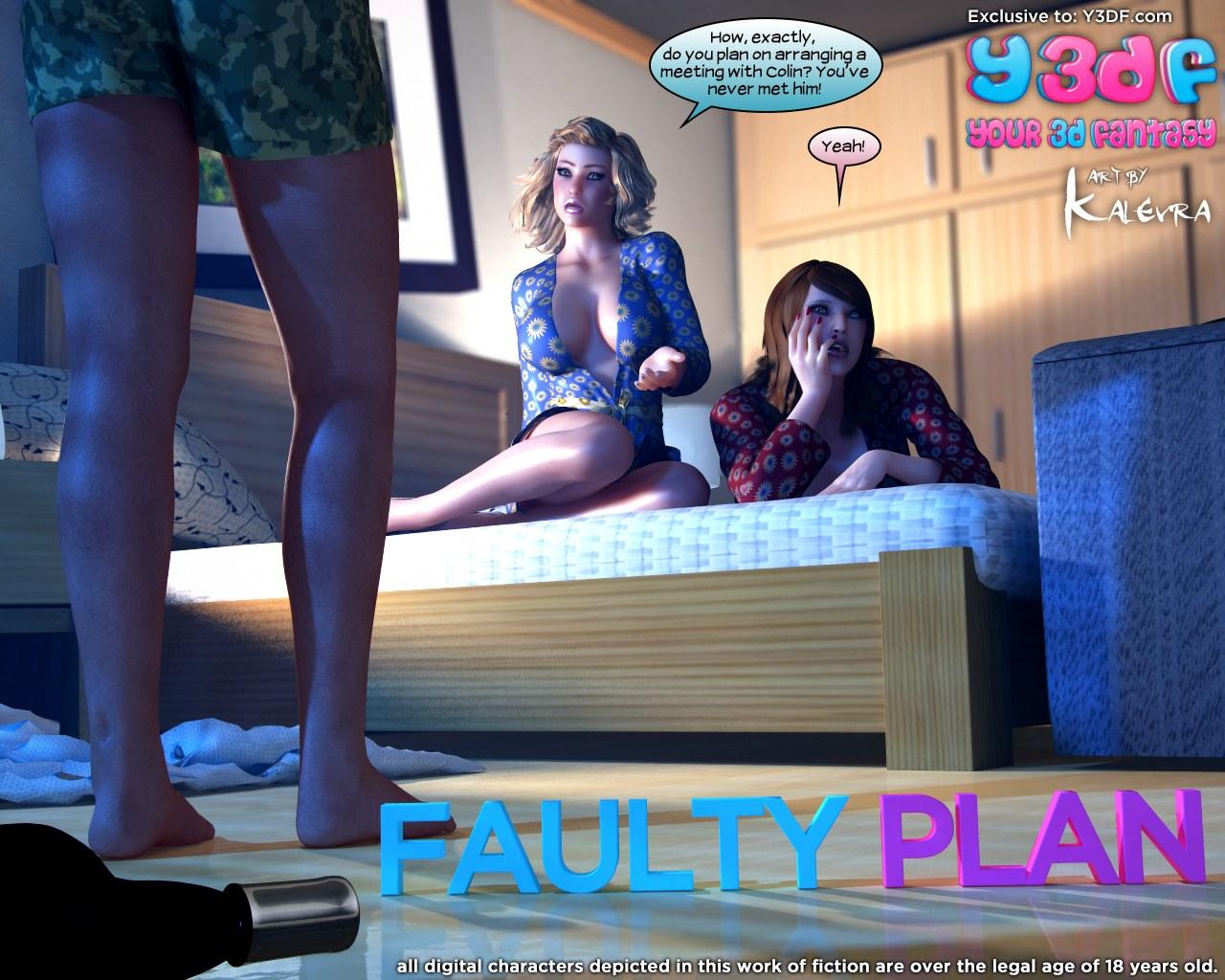 Porn Comics - Y3DF- Faulty Plan porn comics 8 muses