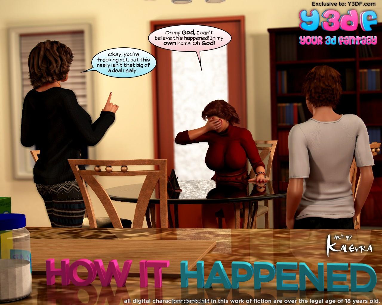 Porn Comics - Y3DF- How it Happened porn comics 8 muses