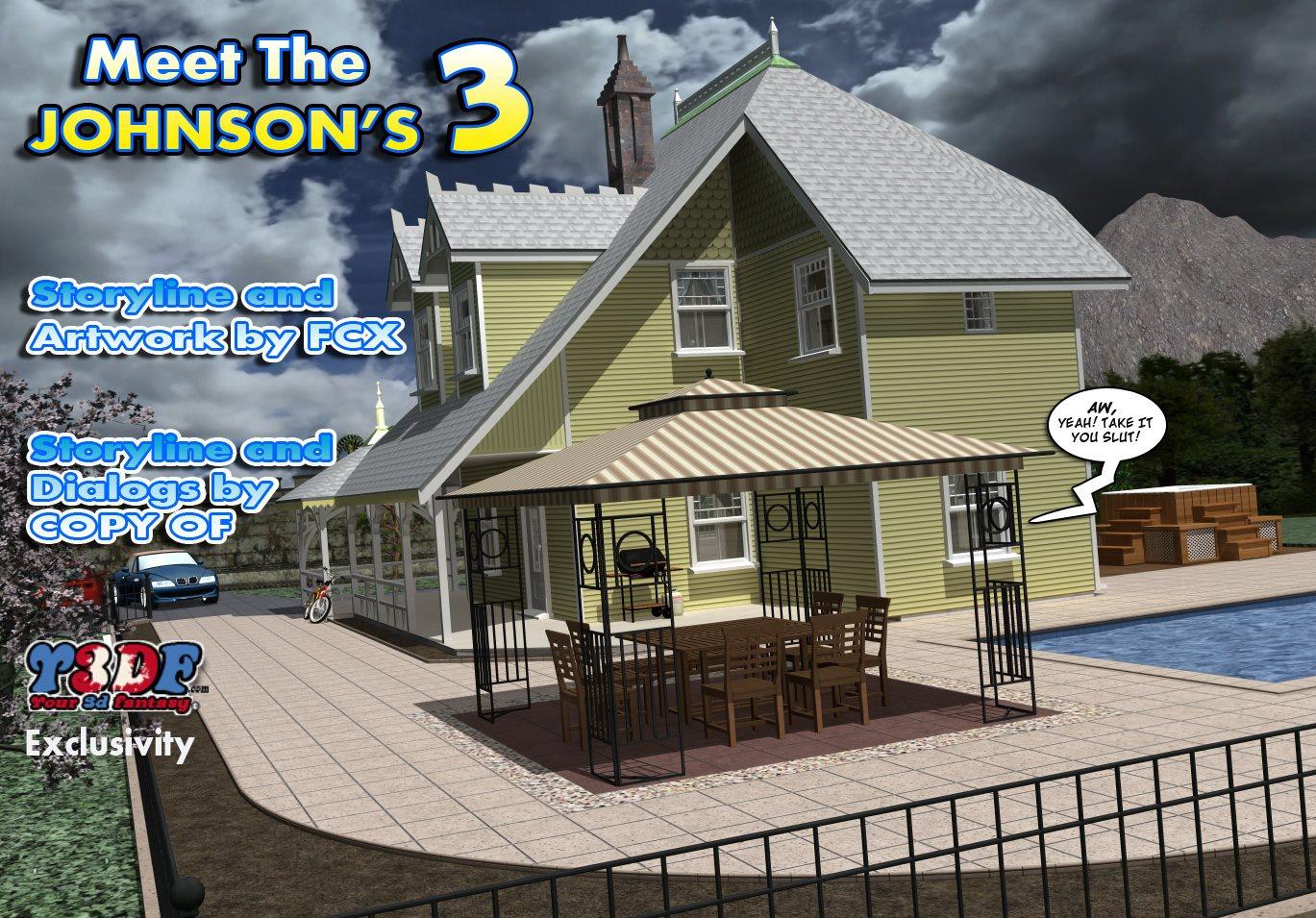 Porn Comics - Y3DF – Meet The Johnson's 3 porn comics 8 muses