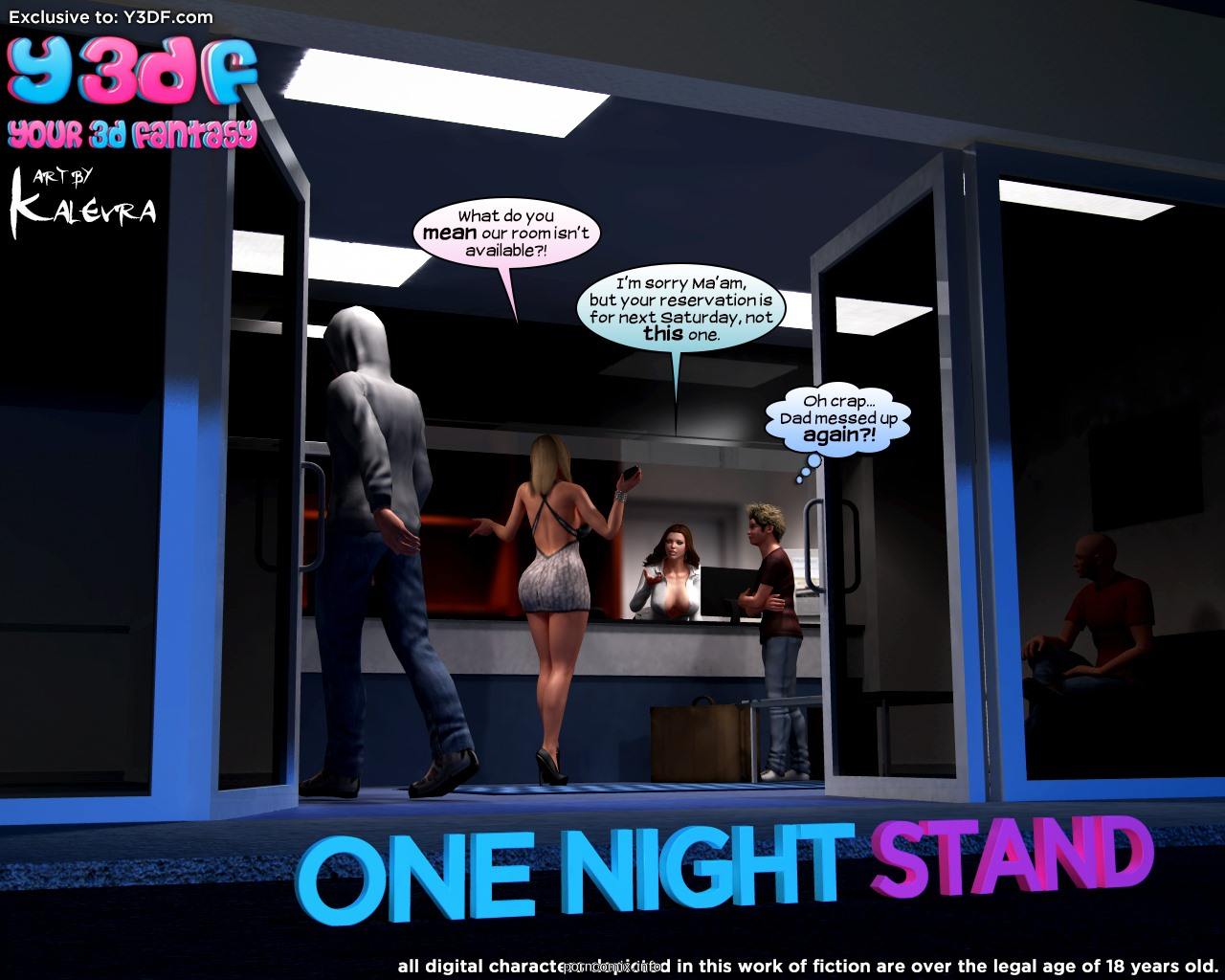 Y3DF- One Night Stand image 01