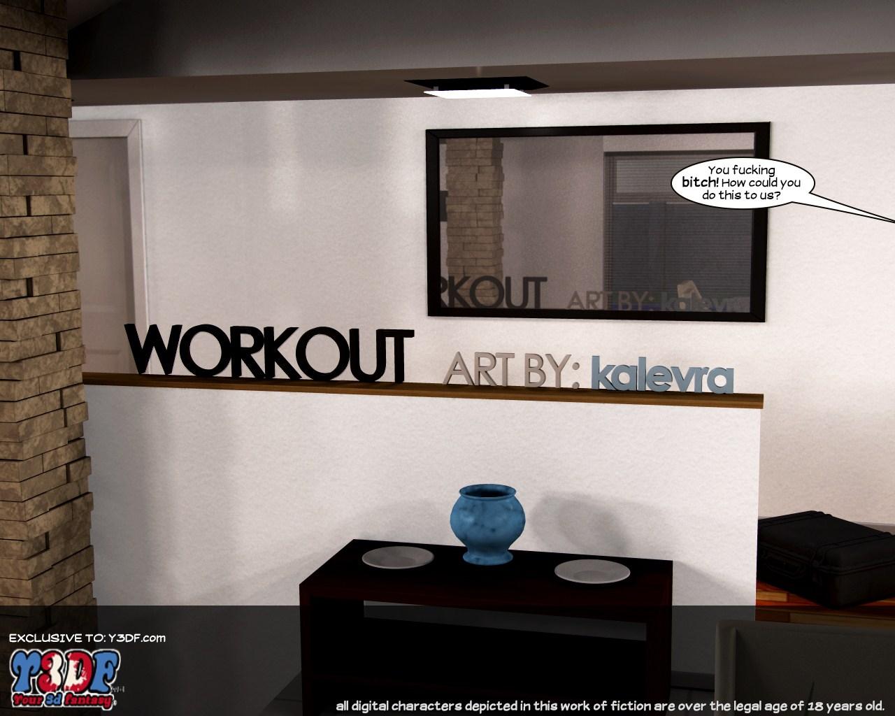 Porn Comics - Y3DF- Workout porn comics 8 muses